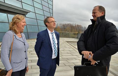 For mange norske byer er bremseklosser for telekomutvikling
