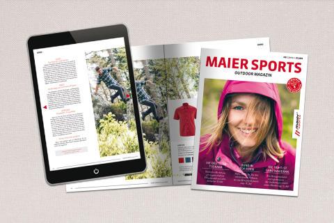 Das neue Maier Sports Outdoor Magazin ist da!