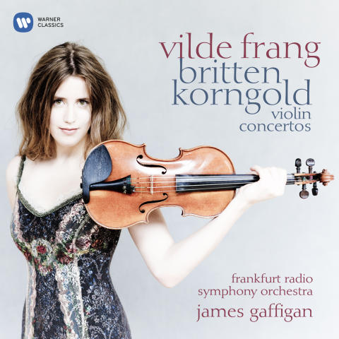 Vilde Frang / Britten Korngold Violin Concertos Cover Art