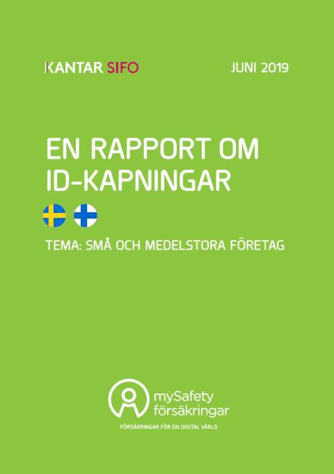 En rapport om ID-kapningar bland svenska företag med upp till 250 anställda