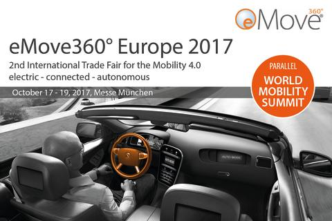 Meet Charge Amps at eMOVE360 in Munich.