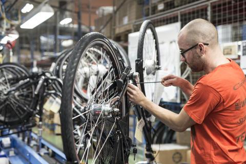 Storsatsning på svensk cykelindustri