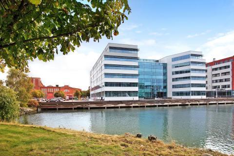 Getingekoncernen flyttar sitt huvudkontor till Eklandias nybyggda kontorshus Aurora på Lindholmen