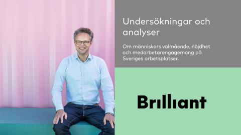 Undersökningar om människors välmående och engagemang på Sveriges arbetsplatser