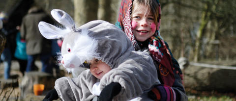 Säsongsöppning och påskfest på Fredriksdal