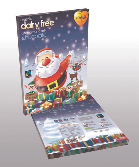 Äntligen en chokladkalender för allergiker!