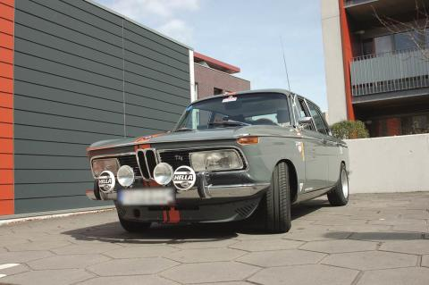 BMW 2000tii_Ausstellungsstück Techno Classica