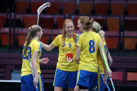 Stina Ander - U19-damlandslaget