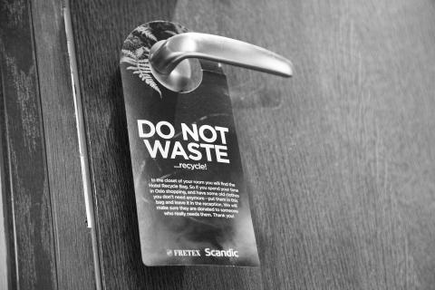 Do not waste