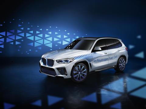 BMW i Hydrogen NEXT – Frankfurtissa saadaan esimakua nollapäästöistä