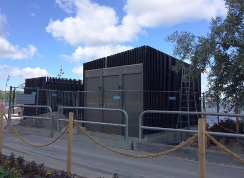 Stockholms första självrengörande toalett invigs idag