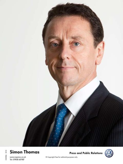 Simon Thomas to take over as Global Head of Marketing for Volkswagen Group AG