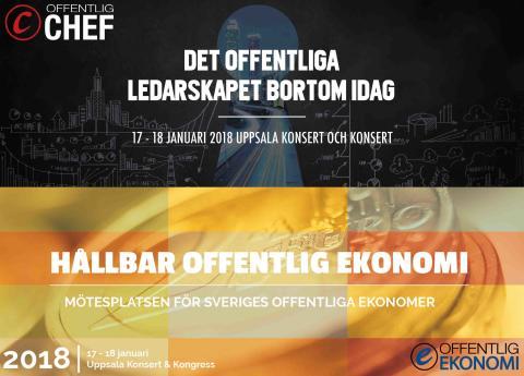 Dags för Offentlig Chef och Offentlig Ekonomi att mötas!