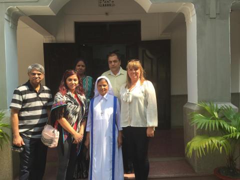 Vuxenutbildningen välkomnar kollegor från Bangladesh