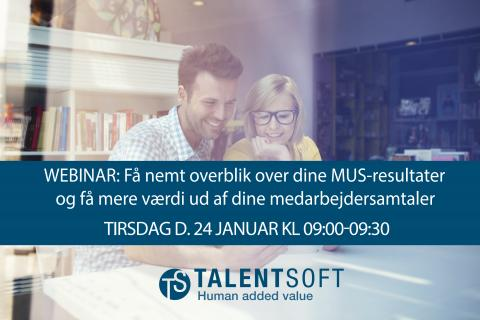 WEBINAR: Performance & Kompetencer - Part 2 (MUS-samtale)