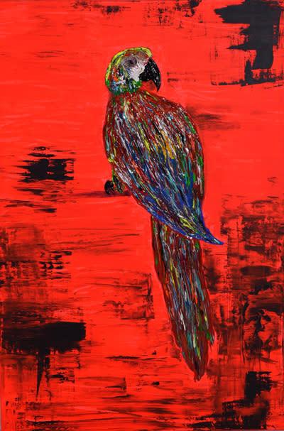 Ny utställning med Melker Garays tavlor