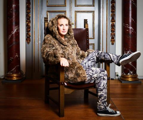 Photoshoot i pels - ægte eller kunstig - til Kulturnatten på Nationalmuseet