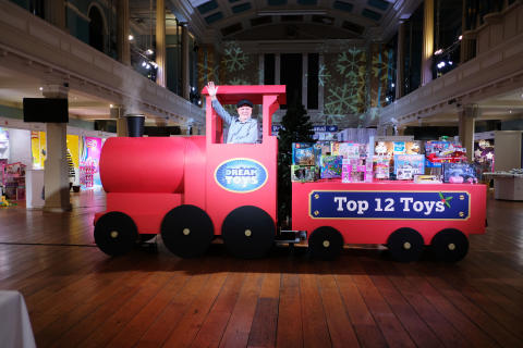 Dream Toys 2018 - Event Shots - Top 12 Toys Train - Gary Grant