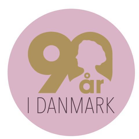 Dr. Oetker 90 år i Danmark, logo