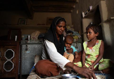 Pakistan ett år efter katastrofen: Samina