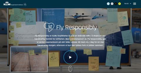 Initiativet 'Fly Responsibly' vil samle flybransjen