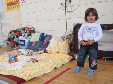 Rädda Barnen öppnar Katastroffonden för översvämningarna på Balkan