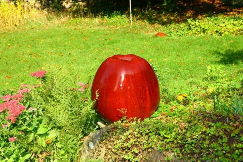 Ulla och Gustav Kraitz - Rött äpple