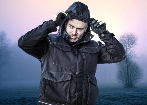 Ytterkläder för jobbet när det är kallt - vem betalar?