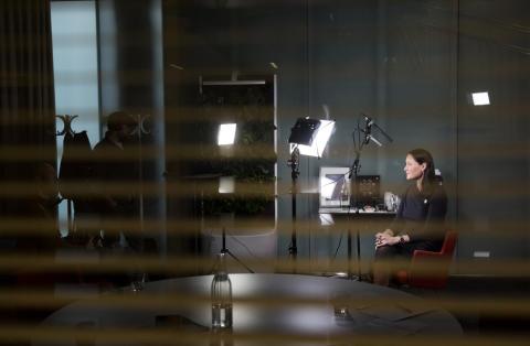 Karolina Lisslö, Generalsekreterare i Mattecentrum  i Samhällsbyggarpodden!