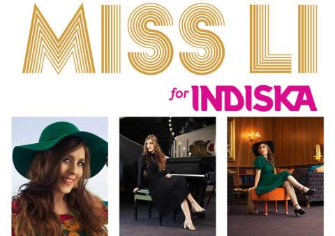 MISS LI och INDISKA - Idag släpps samarbetet
