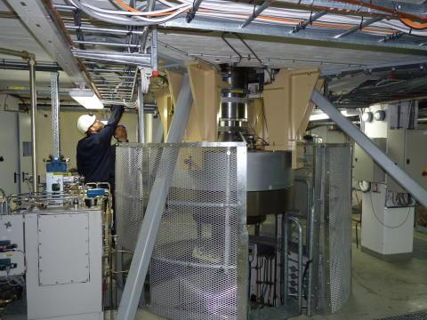 Magnetiskt bärlager (3)- Porjus - vattenkraft