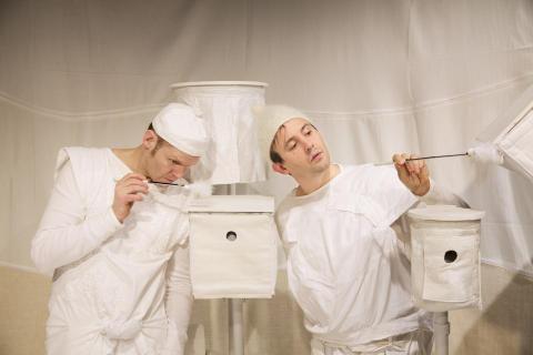 Teater Pero spelar barnteater i Lindesberg på söndag