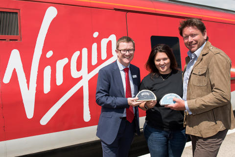 Award-winning Chef James Martin meets Yorkshire food producers featuring on  Virgin Trains' new seasonal east coast menu