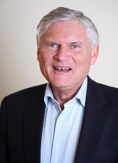 Sportfiskarnas ordförande Joakim Ollén