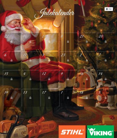 STIHL julekalender 2016