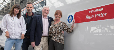 ​Virgin Trains marks 60 years of Blue Peter with train naming