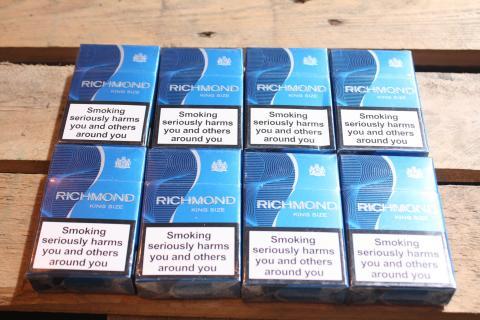 Cigarettes found in Hazel Lumbley's car