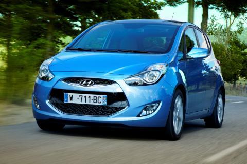 Hyundai ix20 med fem stjerner i Euro NCAP