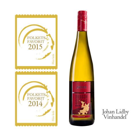 Dragonstone Riesling är bästa vita vin! Två år i rad!