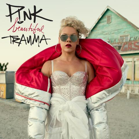 "P!NK - ""Beautiful Trauma"" albumomslag"