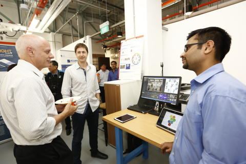 AStartCentral open house and showcase during SWITCH ON @ LaunchPad