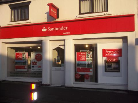 Cashzone ATMs maintain local lifeline at St Helens new Santander branches