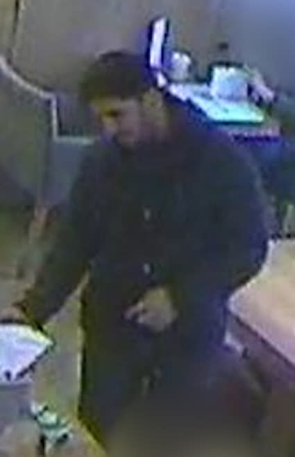 Image: CCTV stilll of man wanted for questioning