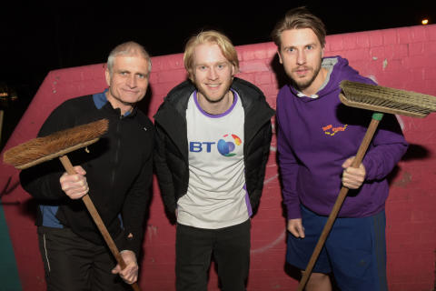 BT's Coventry workers and Jonnie Peacock make it a clean sweep!
