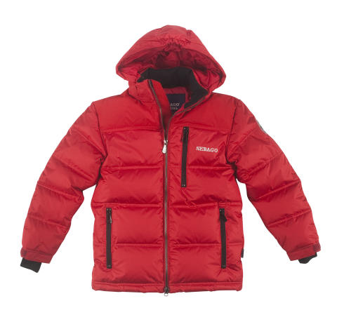 Sebago Bedford Kids jacket Red