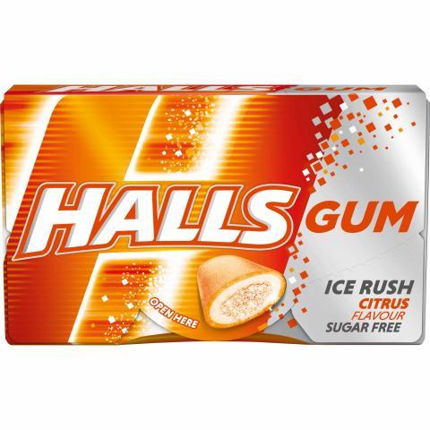 Gumy Halls Citrus