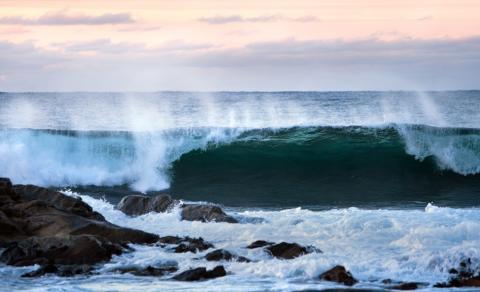 Kinder- und Jugendbuchautorin Maria Parr mag den Blick auf das Meer an der norwegischen Westküste.