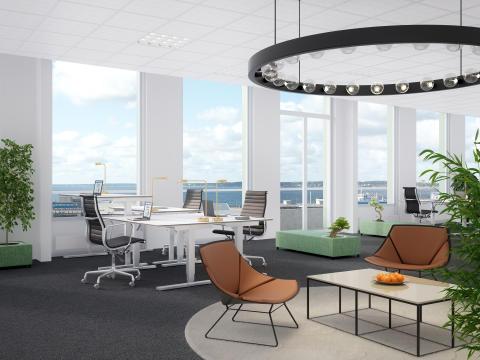 Midroc utvecklar kontor i fastigheten Scala, Helsingborg