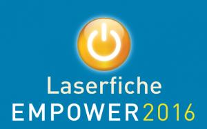Fortrus Ltd are attending Laserfiche Empower 2016