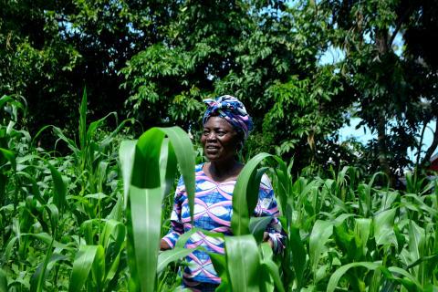 Kvinnlig entreprenör (Kenya)